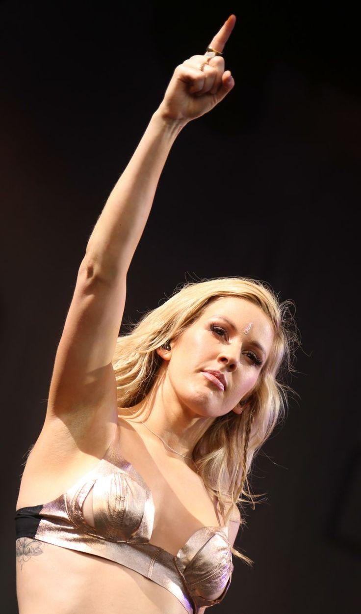#Glastonbury2014 - Ellie Goulding