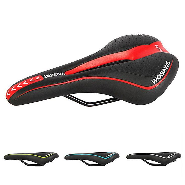 Wholesale cheap  online, highly resilient polyurethane +highly re   - Find best  original wosawe bicycle mountain road racing mtb bike parts cycle racer ride cycling saddle comfortably seat 4 color new arrival 2510005 at discount prices from Chinese bike saddles supplier - szloop on DHgate.com.