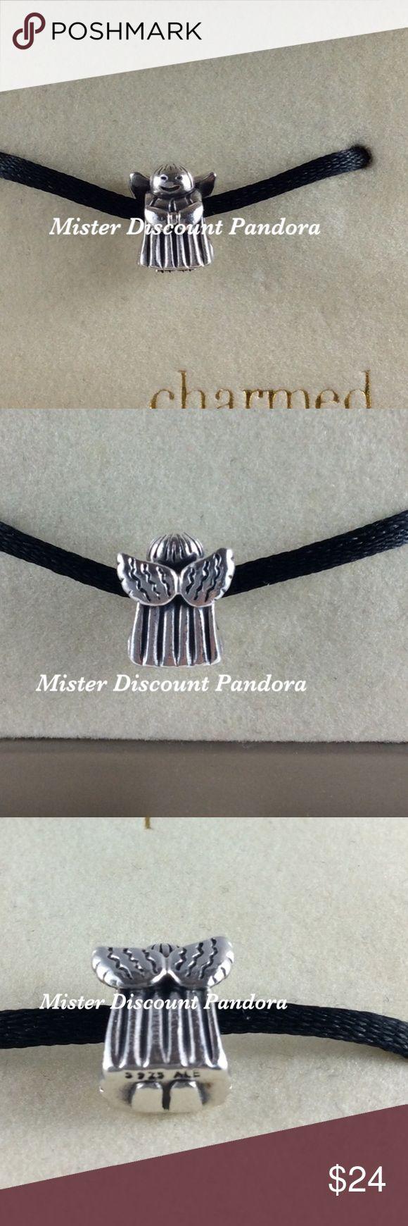 Pandora Angel Of Hope Charm Authentic Pandora Angel Of Hope Charm #790337.  Signature markings Ale/S925  Condition: Excellent Pandora Jewelry Bracelets