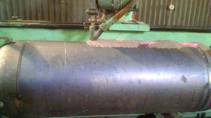 Submerged Arc Welding (SAW) at HI-TEK Manufacturing Pvt. Ltd.