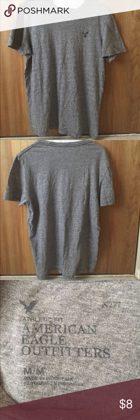 American eagle outfitters size medium men's tshirt American eagle outfitters athletic fit men's size mediums grey tshirt American Eagle Outfitters Shirts Tees - Short Sleeve