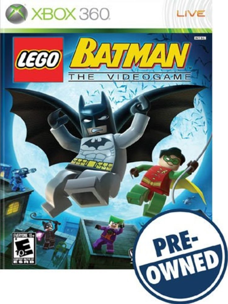 Lego Batman: The Videogame — PRE-Owned - Xbox 360