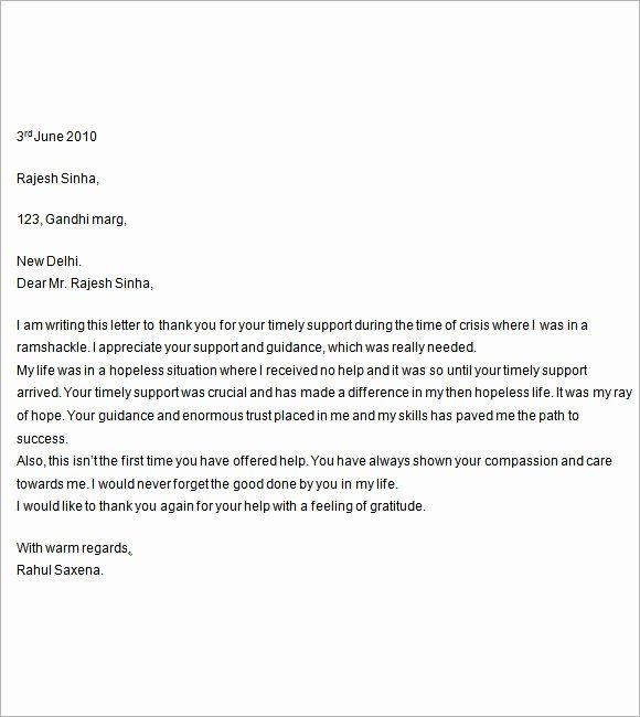 40 Letters Of Support Templates Lettering Support Letter