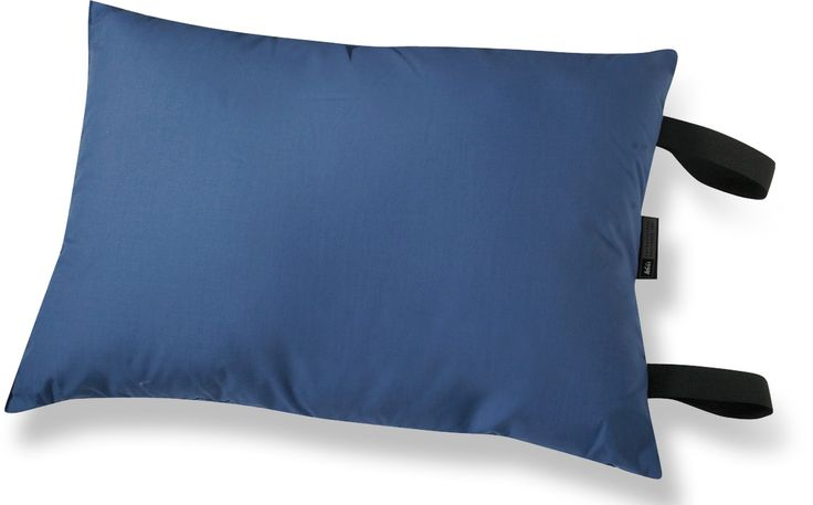 This comfortable compact pillow is great for camping and