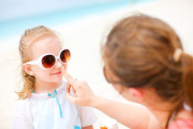 как защитить кожу ребенка от солнца