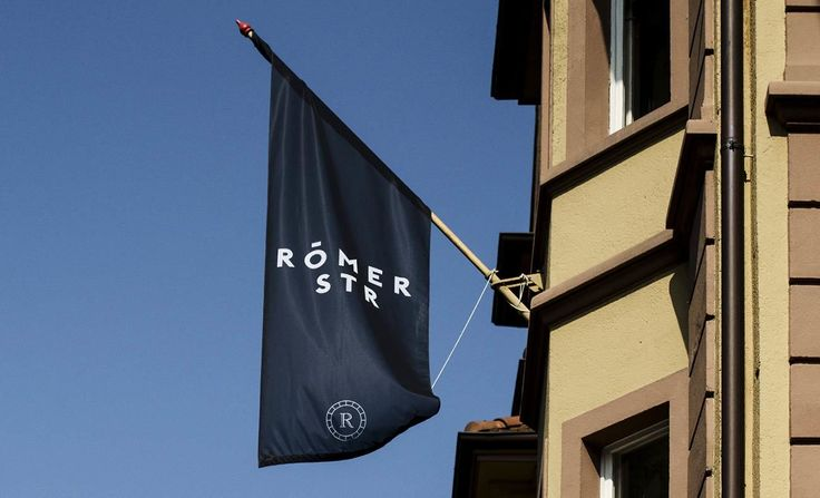 Römerstraße Branding in Vorarlbergs Landeshauptstadt Bregenz#corporateidentity #corporatedesign #branding