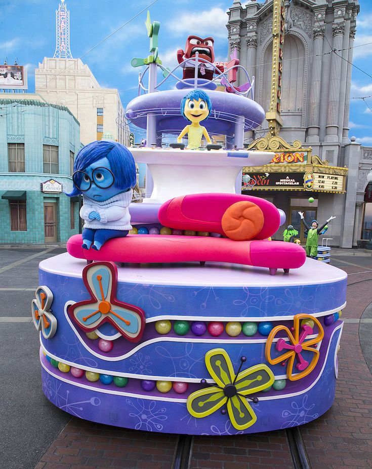 Disney•Pixar's 'Inside Out' Pre-Parade Starts Today at Disney California Adventure Park
