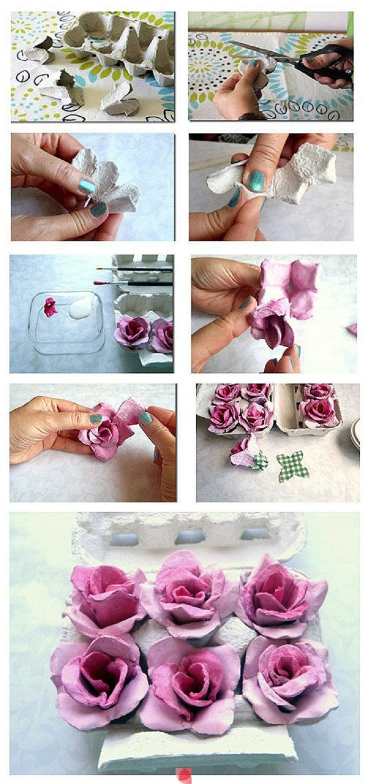 7 Creative DIY Crafts Made from Egg Cartons
