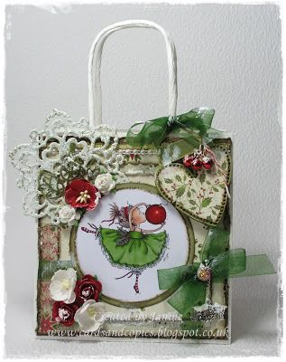 handmade gift bag, Hobby House, Mo Manning