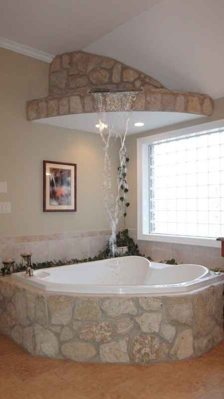 Let it Reign over you. | 27 Gorgeous Bathtubs That Will Make You Join The Bath Fandom