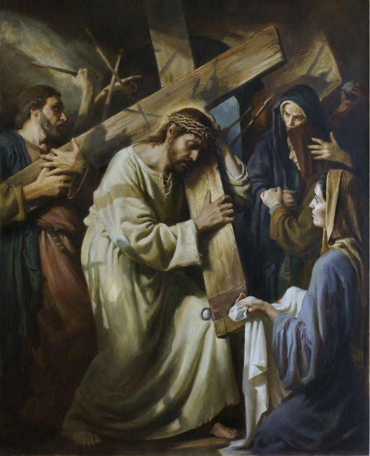 Несение Креста, живопись