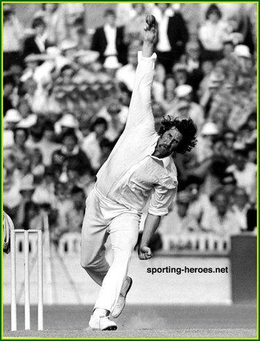 Max Walker - Australia - Test Record v England