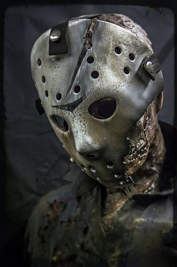 Friday the 13th - Jason Voorhees - A Portrait by skorpiusdeviant