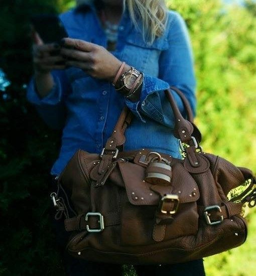 Authentic  Chloe Paddington Satchel bag. Price 650.00$ in excellent condition FashionWoo ship throughout US and Canada