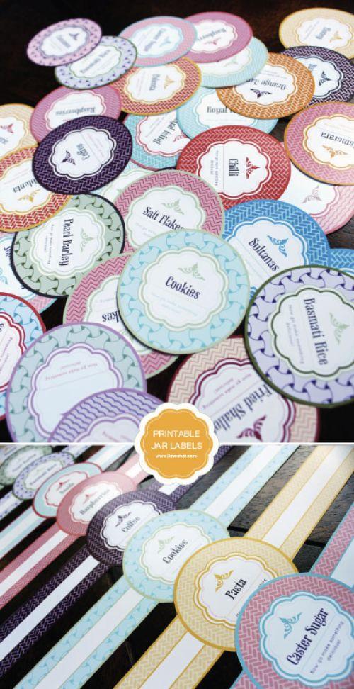 Free Printable Mason Jar Labels...http://homestead-and-survival.com/free-printable-mason-jar-labels/