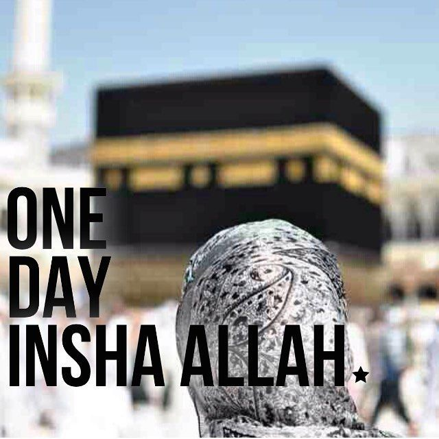 May we all go one day! Ameen! #Makkah #Kaabah #Islam