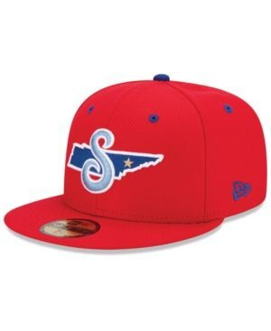 New Era Tennessee Smokies Ac 59FIFTY Cap - Red 7 1/2