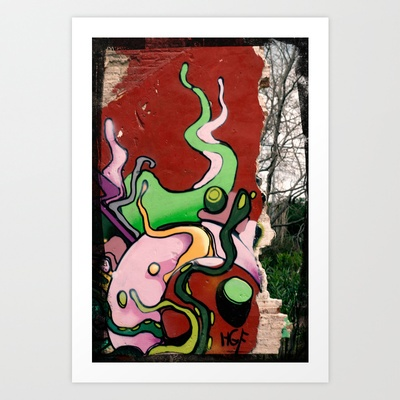 A wall Art Print by Plasmodi - $14.00