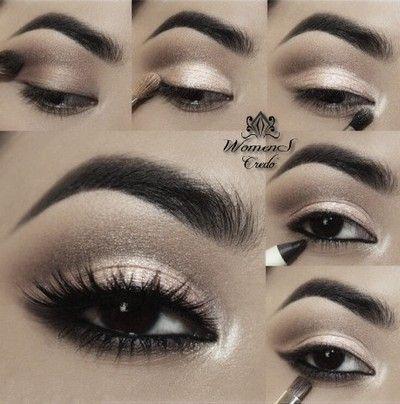 Фотоуроки макияжа карих глаз | Женское кредо