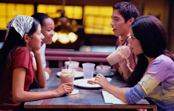 Arrange meetings at your local coffee shop to discuss hearing related topics!