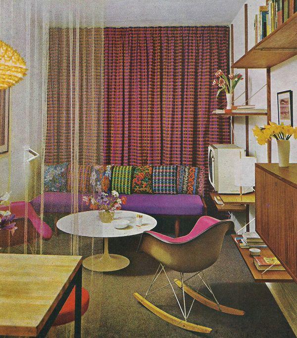 3647 best retro reverb images on pinterest interiors for Garden design 1970s
