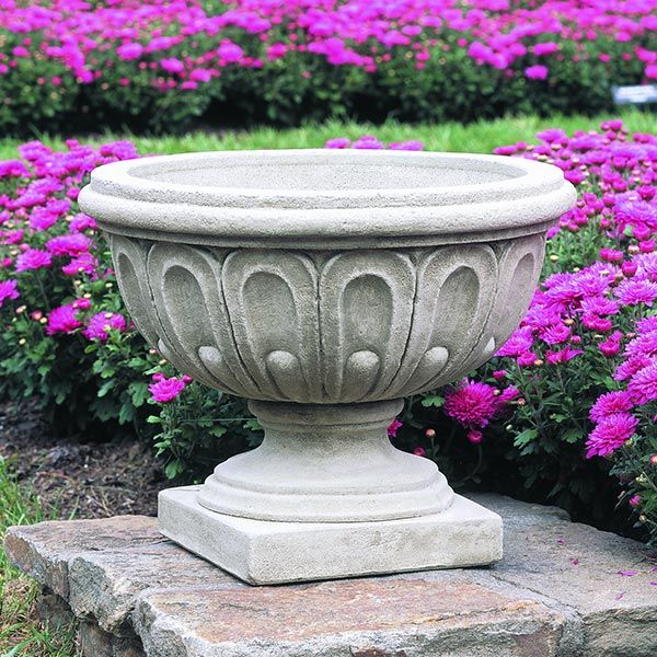 Longwood Fluted Outdoor Urn LPO351