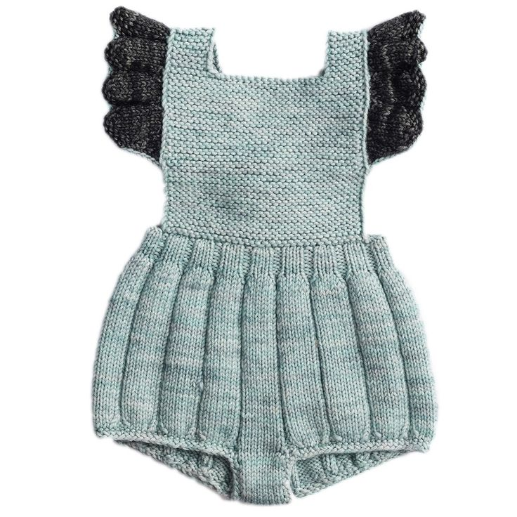 misha and puff ruffle romper – sage/graphite - view all - baby girl | Thumbeline