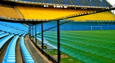 La Bombonera, Boca Juniors, Buenos Aires, Argentina. Find more best places to watch the World Cup in Argentina: http://pin.it/TG9JpcY