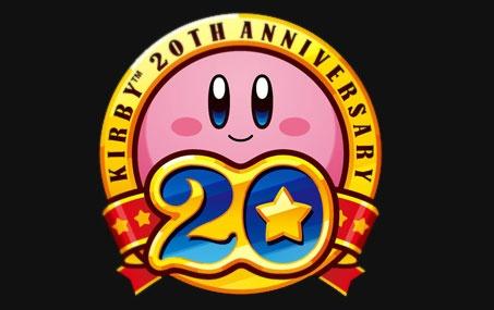 Kirby'nin 20. yıldönümü Kirby 20th Anniversary ile kutlanacak