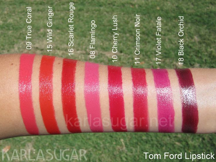 swatches lipstick swatches makeup swatches lipsticks tom ford lipstick. Cars Review. Best American Auto & Cars Review