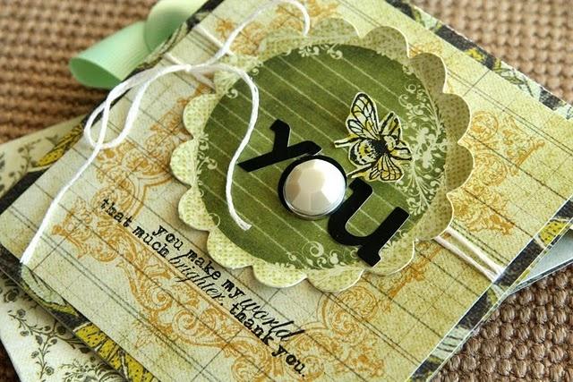 .: Ali Edward, Thank You Card