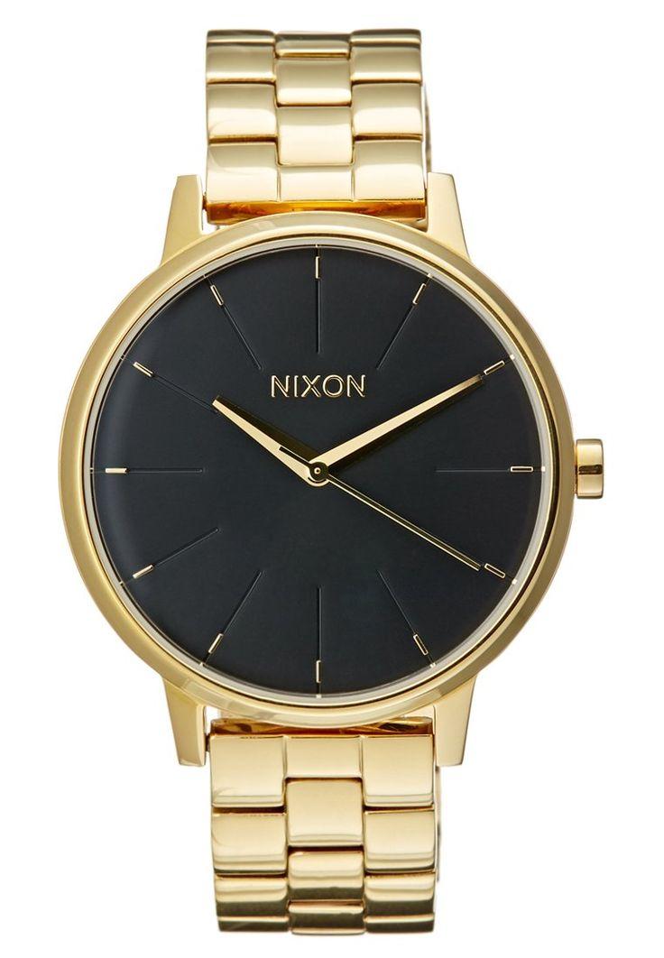 Nixon KENSINGTON - Orologio - gold-coloured/black a € 180,00 (15/12/15) Ordina senza spese di spedizione su Zalando.it