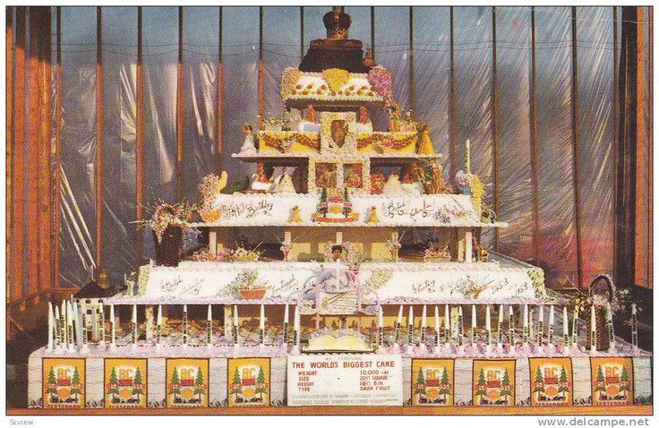 Biggest Birthday Cake Ever World S Biggest Birthday Cake