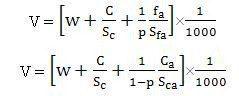 Concrete Mix Design formula