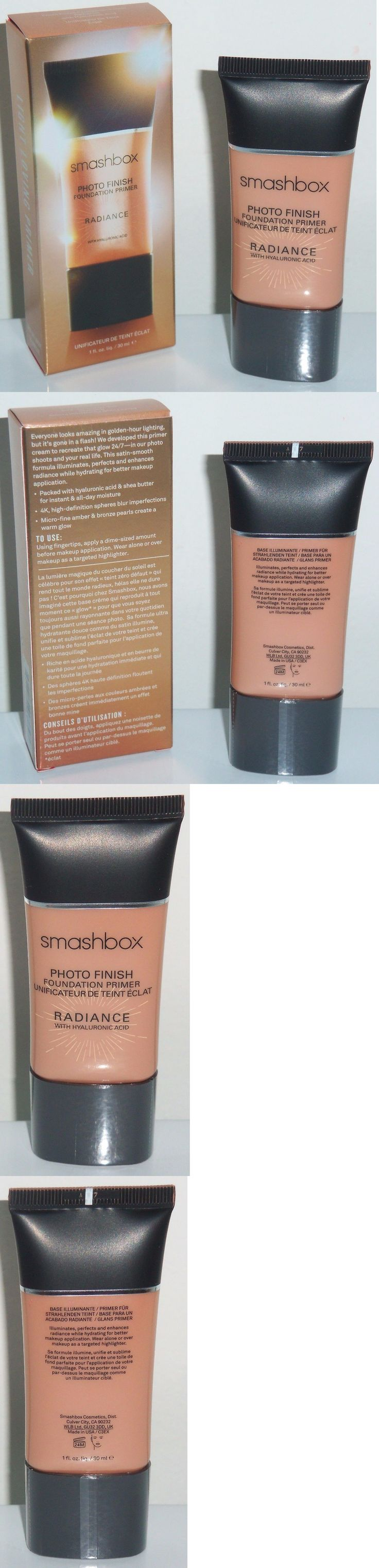 Foundation Primer: *Brand New In Box* Smashbox Photo Finish Foundation Primer Radiance 1Floz(30Ml) -> BUY IT NOW ONLY: $38.99 on eBay!
