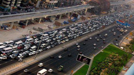 Gold prizes for Dubai commuters