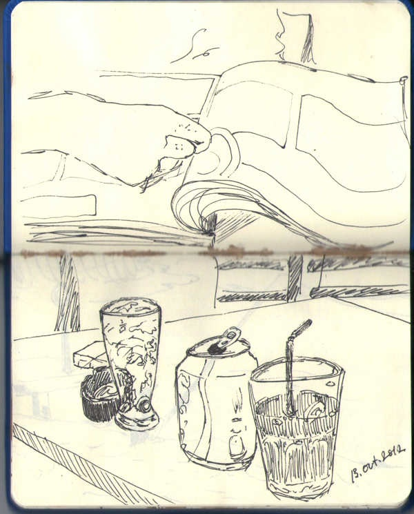 SketchBook & Coffee by Ana Varela, via Behance # illustration