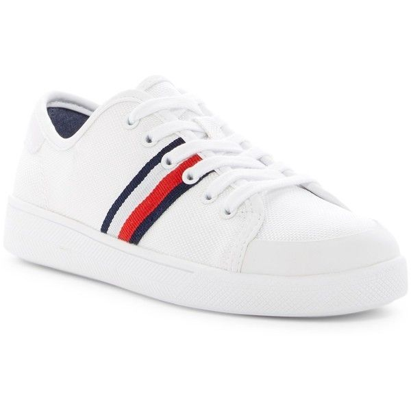 Tommy Hilfiger Spruce Platform Sneaker 1 880 Dop Liked On Polyvore Featuring Shoes Sneakers Platform Shoes Rubber Platform Shoes Platfor Calzas