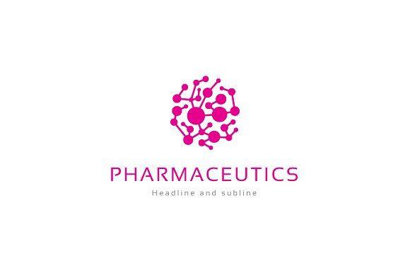 Pharmaceutics logo. by anton.akhmatov on @creativemarket