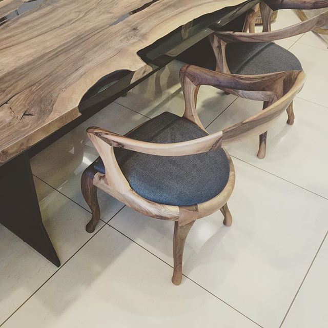 #like4like #instagram #instagood #crazy #interiordesign #photooftheday #love #follow #architecture #walnut #chair #wood #masa #tasarım #sandalye #look #design #best #top  noks collection ready to view 🎉