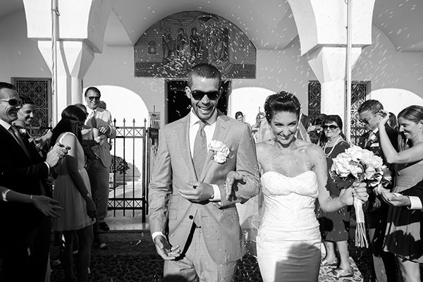 Coral wedding in Santorini| Amalia & Sterling  See more on Love4Wed  http://www.love4wed.com/coral-wedding-in-santorini/  Photography by Nikos P. Gogas   http://www.nikosgogas.com/