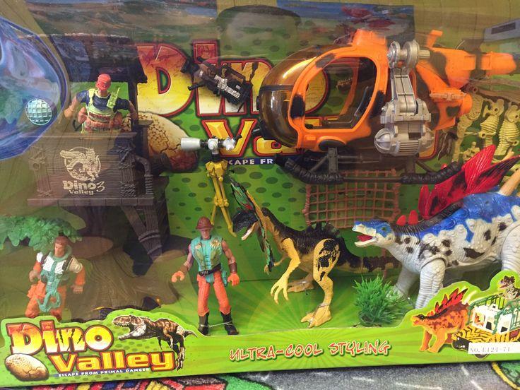 Dinosaure Valley set complet. 3+ans. 49.99$ Disponible en boutique ou sur notre catalogue en ligne. Livraison rapide au Québec.  Achetez-le info@laboiteasurprisesdenicolas.ca