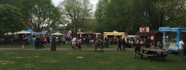 2015 Tulipfest food truck court