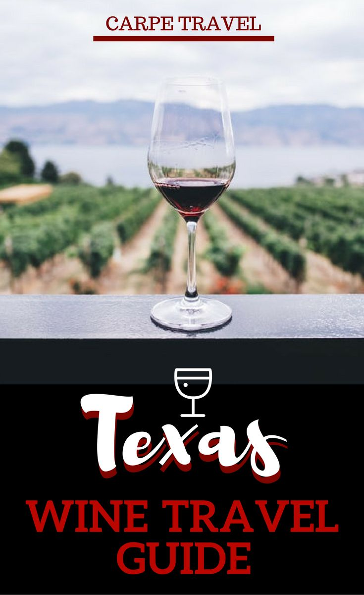 This guide to the Texas wine region