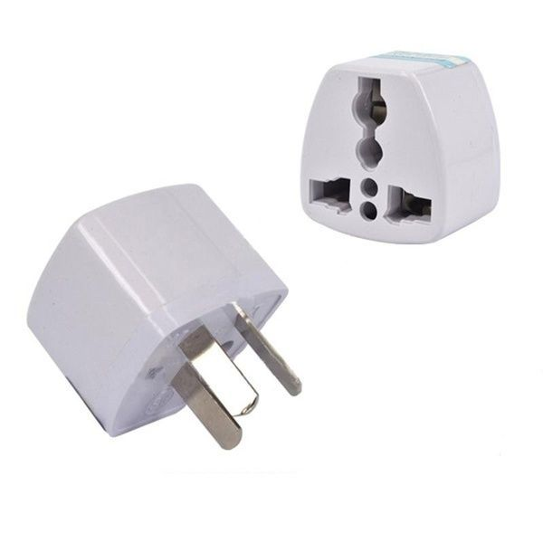 Universal Power Adapter Travel Adaptor 3 Pin Au Converter Us Uk Eu To Au Plug Charger For Australia New Z Universal Power Adapter Power Adapter Travel