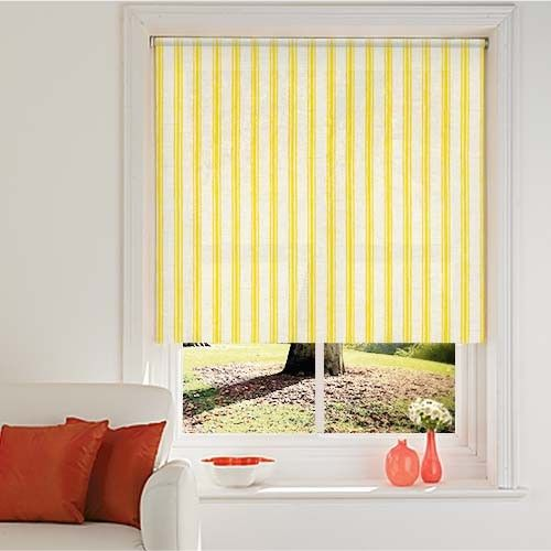 1000 Ideas About Yellow Roller Blinds On Pinterest
