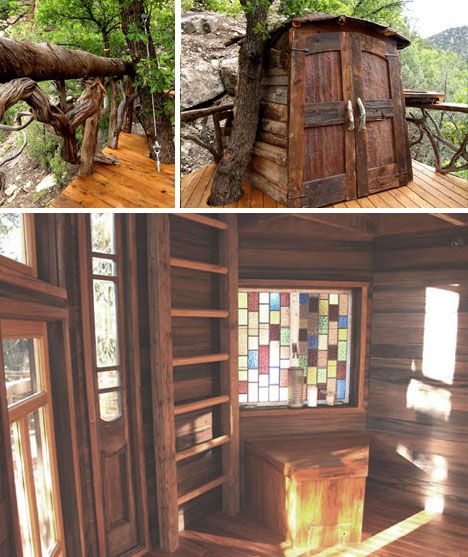 27 best images about garden ideas cubby houses on pinterest for Tree house window ideas