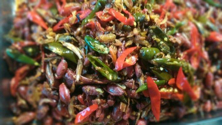 Sambel Goreng Kulit Melinjo #traditionalfood #indonesia