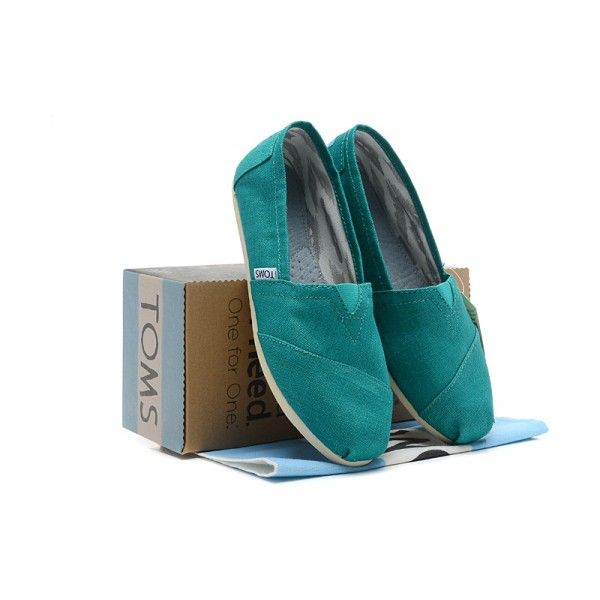 Washed Green Canvas Womens Classics