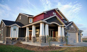 Gorgeous Grey Exterior - traditional - exterior - salt lake city - Design Hintz Interior Design